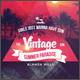 Vintage Summer Flyer - GraphicRiver Item for Sale