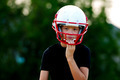 Youth football player - PhotoDune Item for Sale