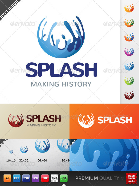 GraphicRiver Splash Logo 5140326