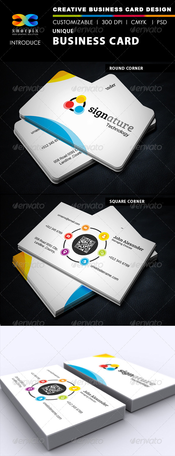 GraphicRiver Signature Business Card 5141282