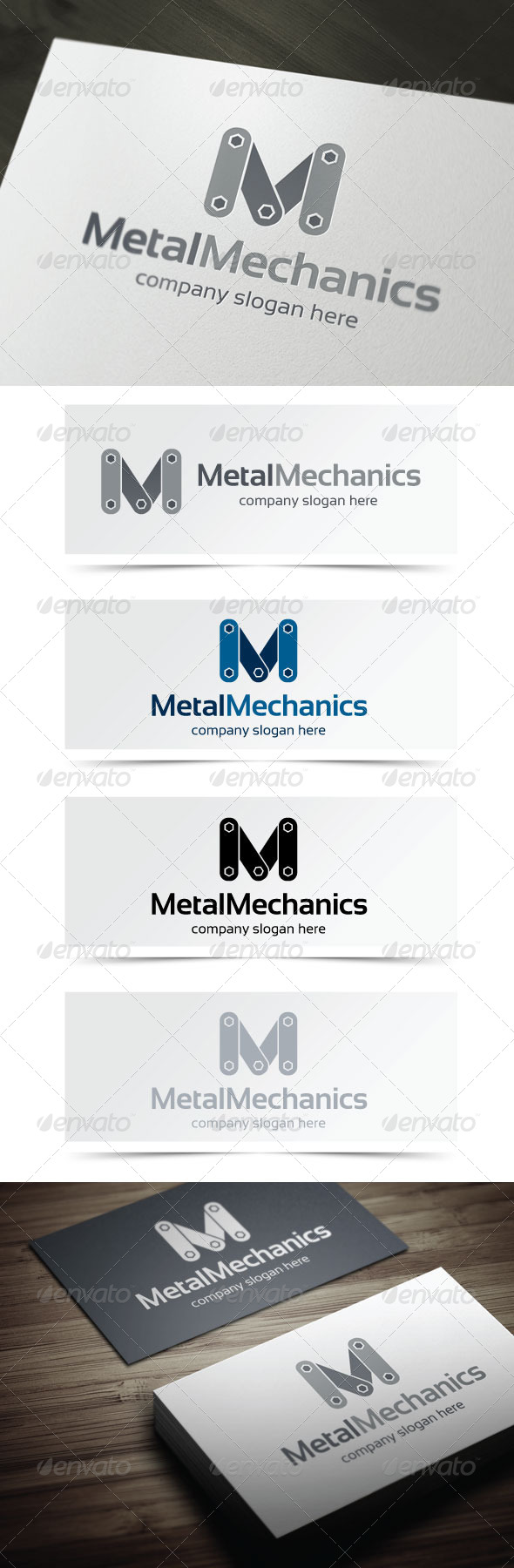 GraphicRiver Metal Mechanics 5142270
