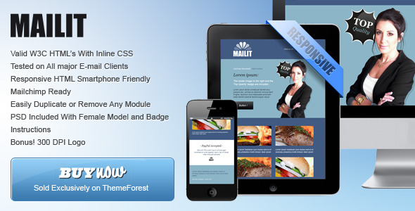 'Connect' - Professional Responsive Email Template