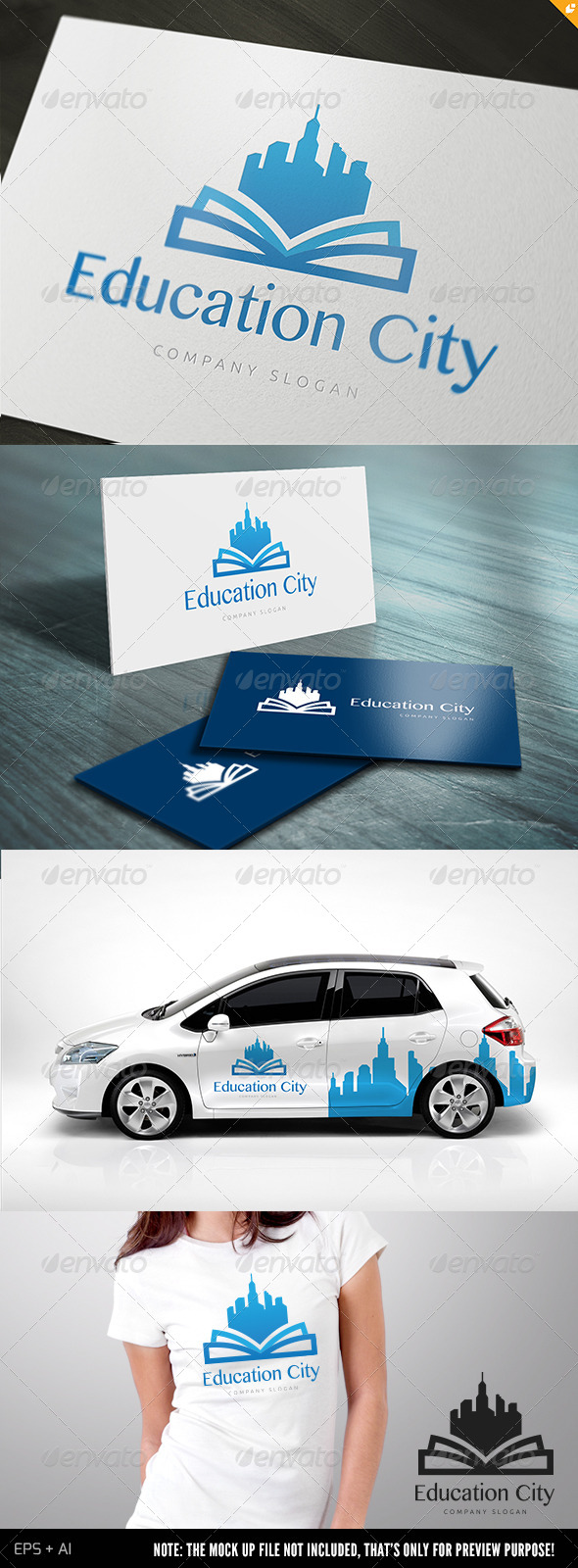 GraphicRiver Education City 5131934