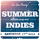 Summer Indies Party Poster Template - GraphicRiver Item for Sale