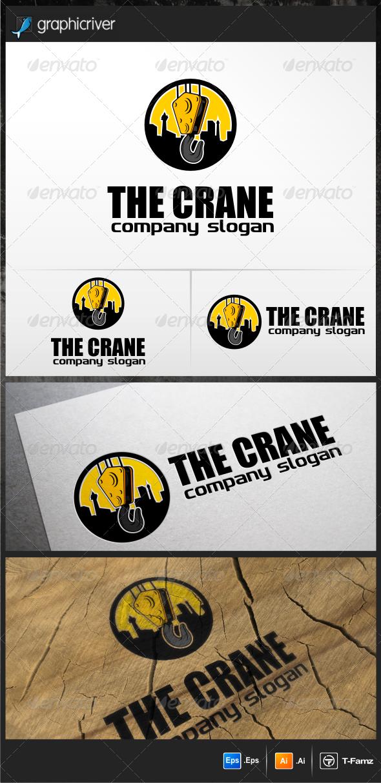 GraphicRiver Crane Logo Templates 5148804