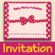 Baby Party Invitation - GraphicRiver Item for Sale