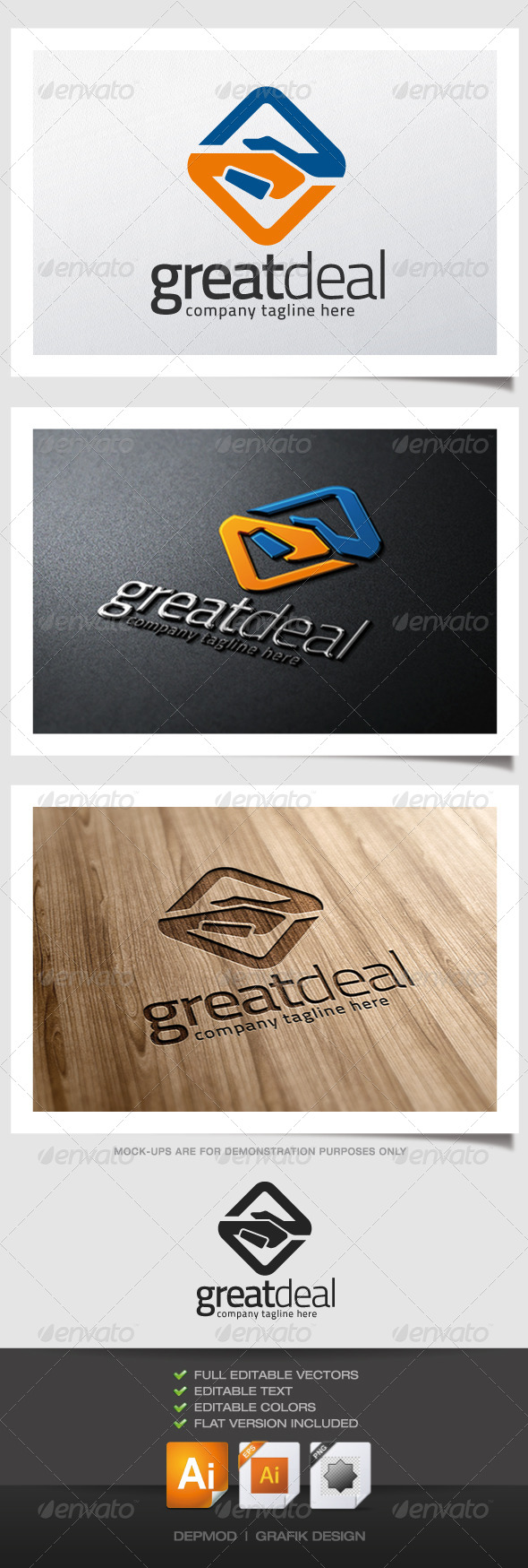 GraphicRiver Great Deal Logo 5123253