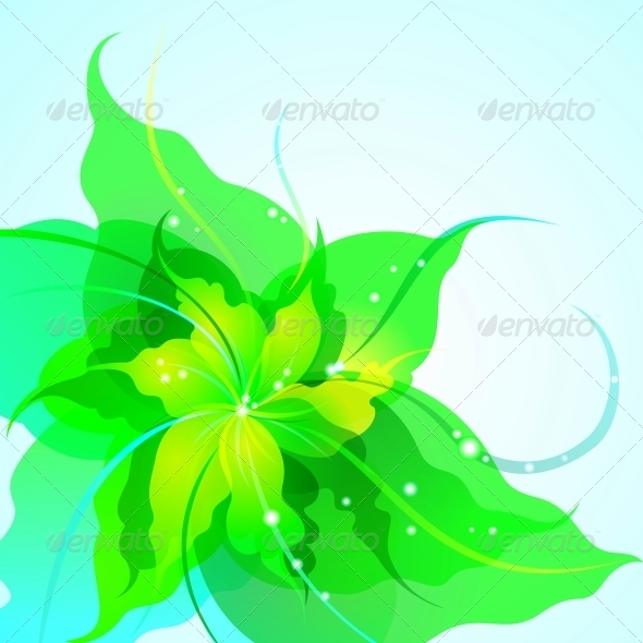 GraphicRiver Flower Background 5149911