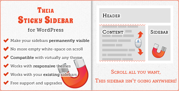CodeCanyon Theia Sticky Sidebar 5150066