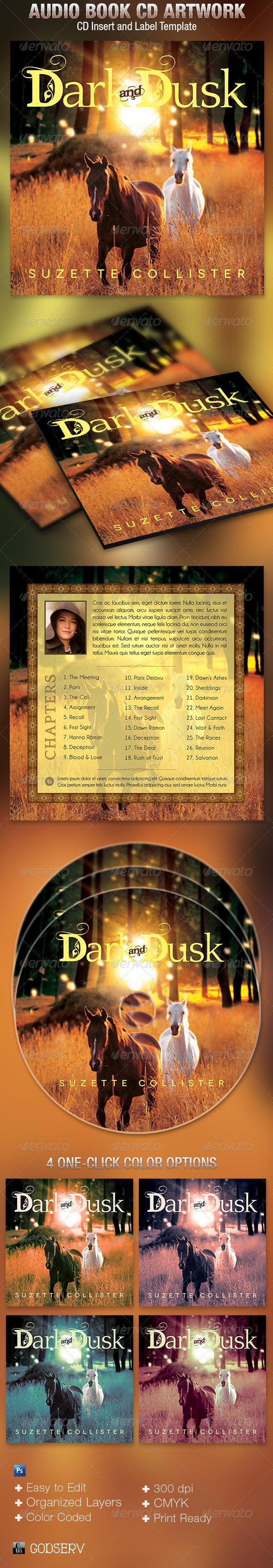 GraphicRiver Audio Book CD Artwork Template 5150698