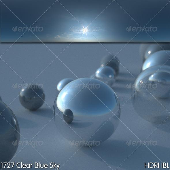 3DOcean HDRI IBL 1727 Clear Blue Sky 5150863