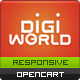 Premium Responsive OpenCart Theme - Digital World - ThemeForest Item for Sale