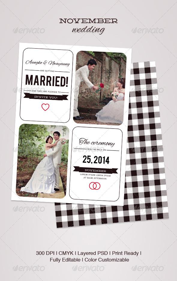 GraphicRiver November Wedding 5151167