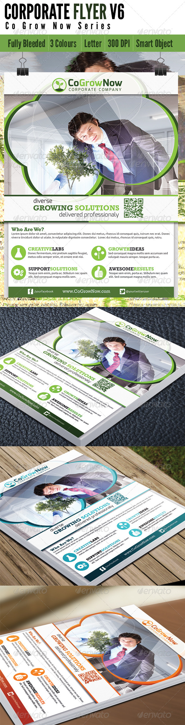 GraphicRiver Corporate Flyer V6 5151199