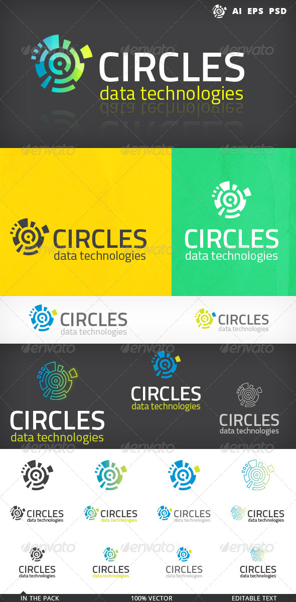 GraphicRiver Circles Logo 5155590