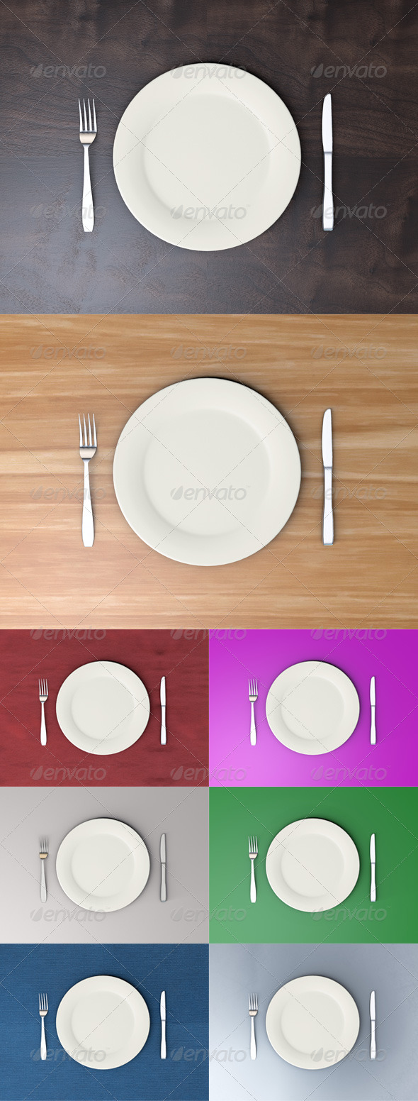 GraphicRiver Dining Set 5155749