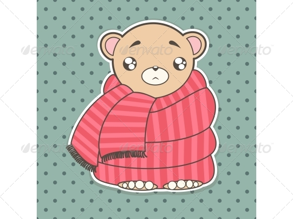 GraphicRiver Cartoon Bear 5155919
