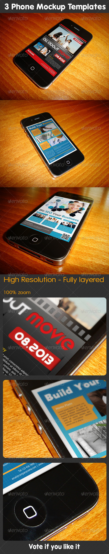 GraphicRiver Phone Mockup 01 5157103