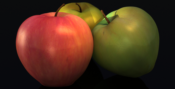 3DOcean Apple Fruit 5158771