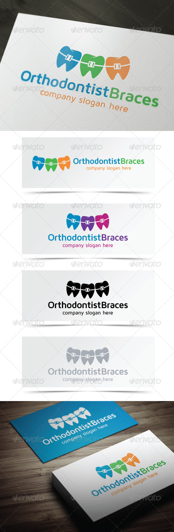GraphicRiver Orthodontist Braces 5158890