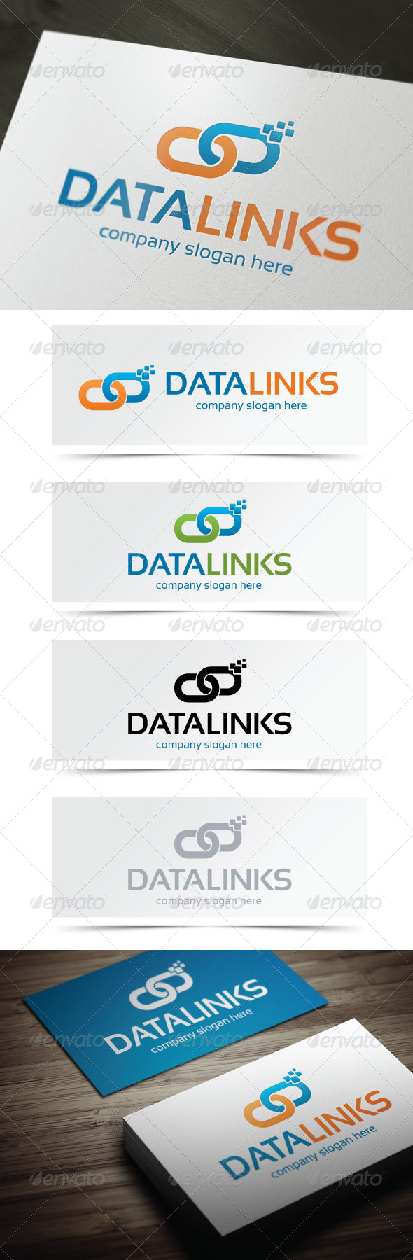 GraphicRiver Data Links 5158907