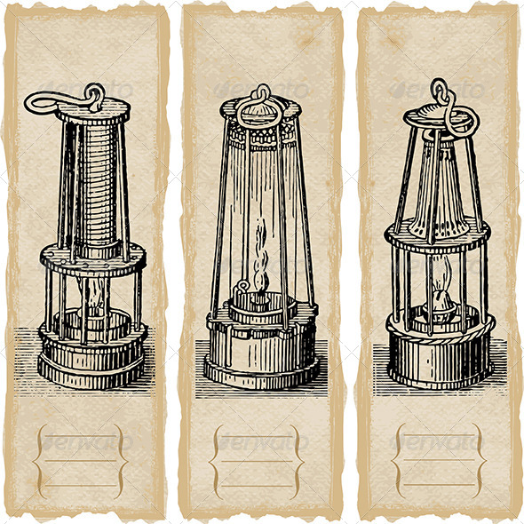 GraphicRiver Safety Lamps 5159430