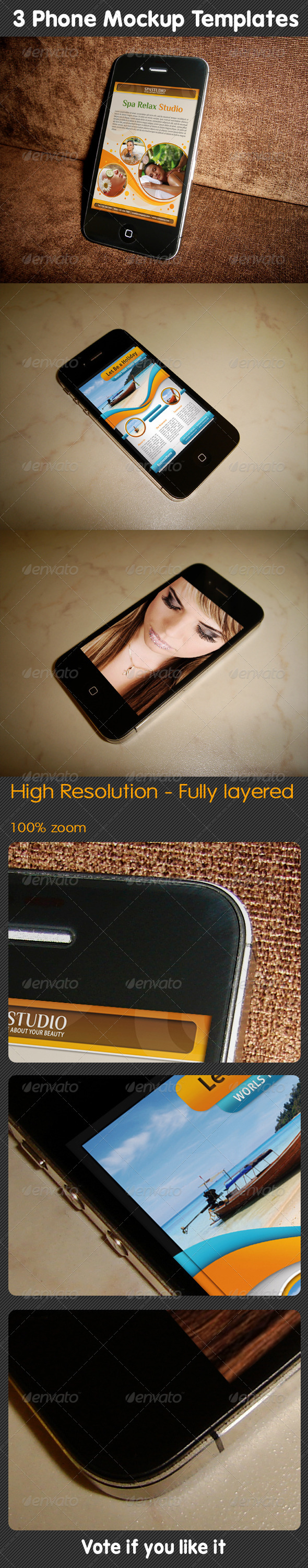 GraphicRiver Phone Mockup 02 5159530