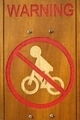 No Bicycle Riding Sign - PhotoDune Item for Sale
