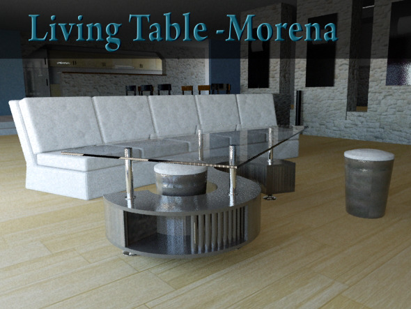 3DOcean Living Table Morena 5160970