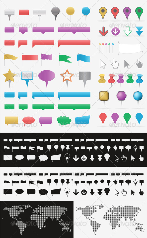 GraphicRiver Pointers 5149875