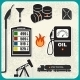 Set of Oil Icons - GraphicRiver Item for Sale