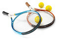 Tennis Rackets with Tennis Balls - PhotoDune Item for Sale