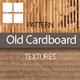 Old Cardboard Patterns - GraphicRiver Item for Sale
