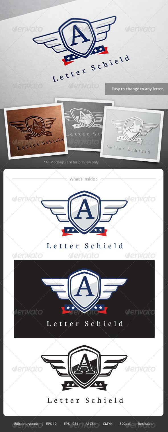 GraphicRiver Letter Schield Logo 5148872