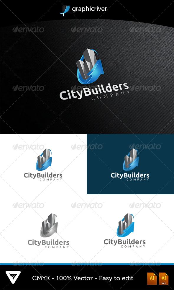 GraphicRiver CityBuilders Logo 5159969