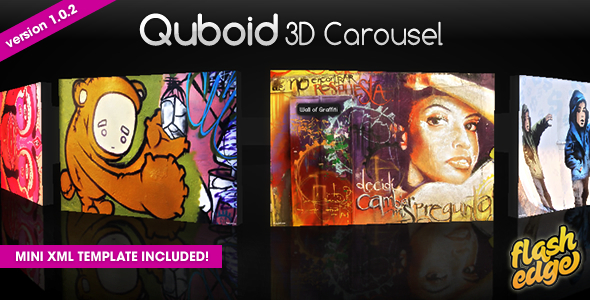 Quboid 3D Carousel Media Viewer - ActiveDen Item for Sale