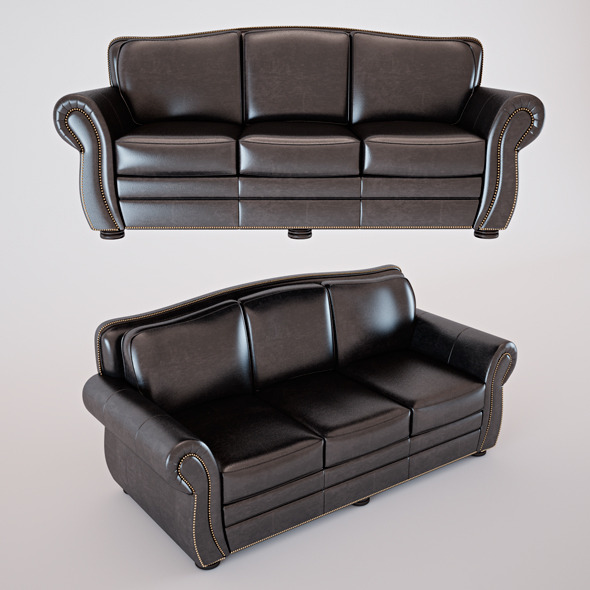 3DOcean Leather Sofa 5167333
