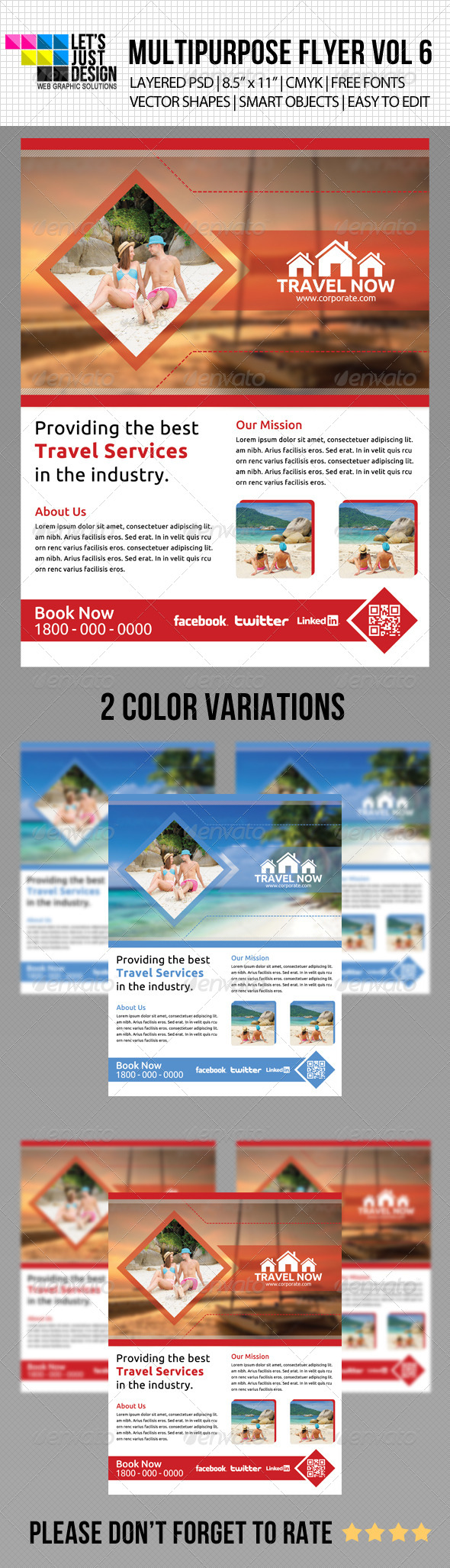 GraphicRiver Multipurpose Flyer Template Vol 6 5169408