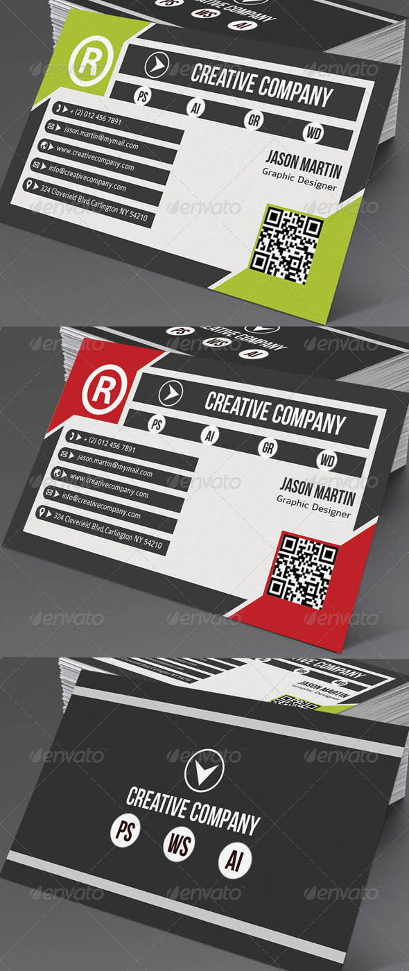 GraphicRiver Creative Business Card 5022983
