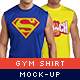 Gym Shirt Mock-Up Pack - GraphicRiver Item for Sale