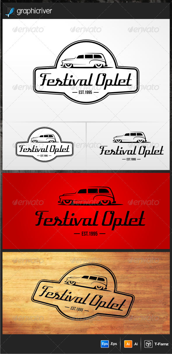 GraphicRiver Festival Oplet Logo Templates 5172866