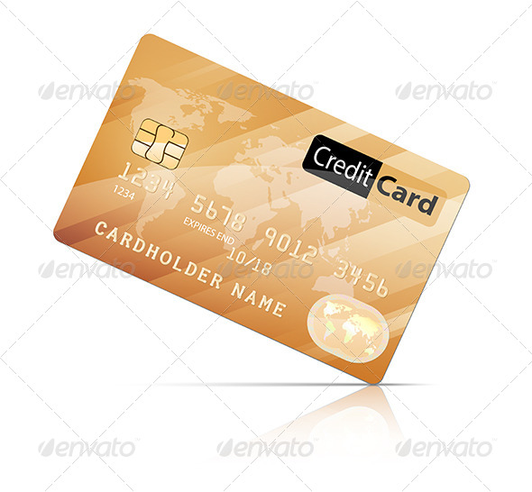 GraphicRiver Credit Card Icon 5173528