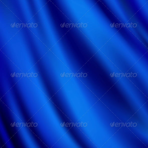 GraphicRiver Abstract Texture Blue Silk 5173828