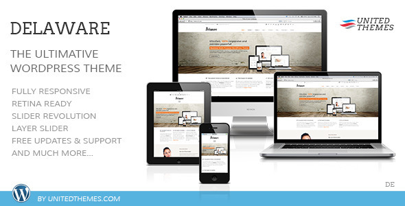 ThemeForest Delaware Responsive Retina WordPress Theme 5159626