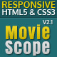 MovieScope -HTML5 & CSS3 Portal Template - ThemeForest Item for Sale