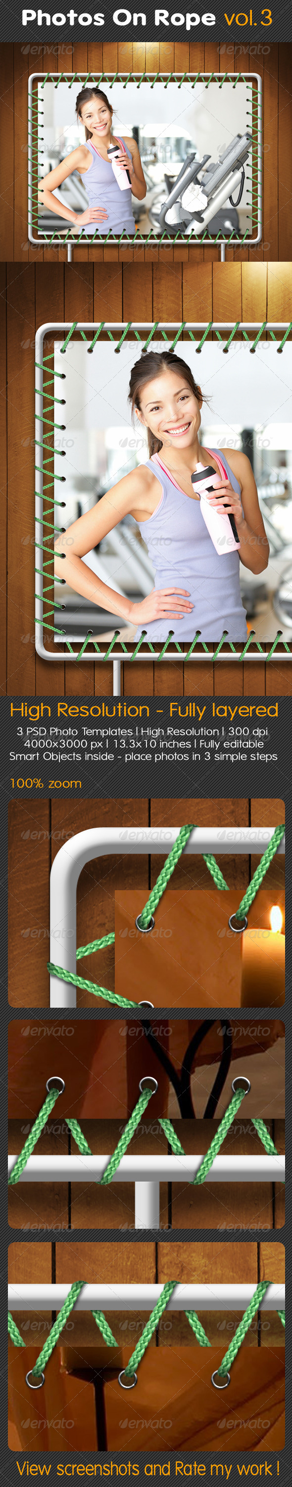 GraphicRiver Photos On Rope Vol.3 5166515