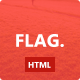 Link toFlag. - clean and modern template