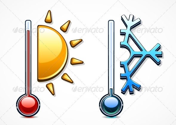 GraphicRiver Two Thermometers 5174221