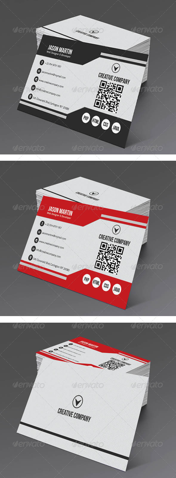 GraphicRiver Simple Corporate Business Card 5174225