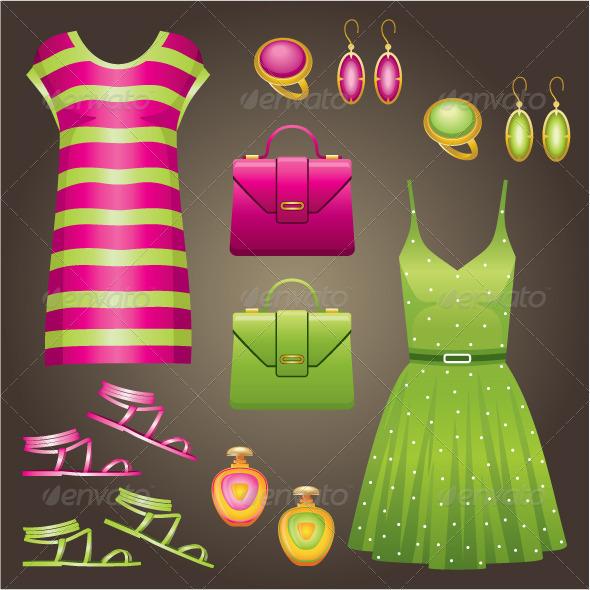 GraphicRiver Fashion Set 5175606